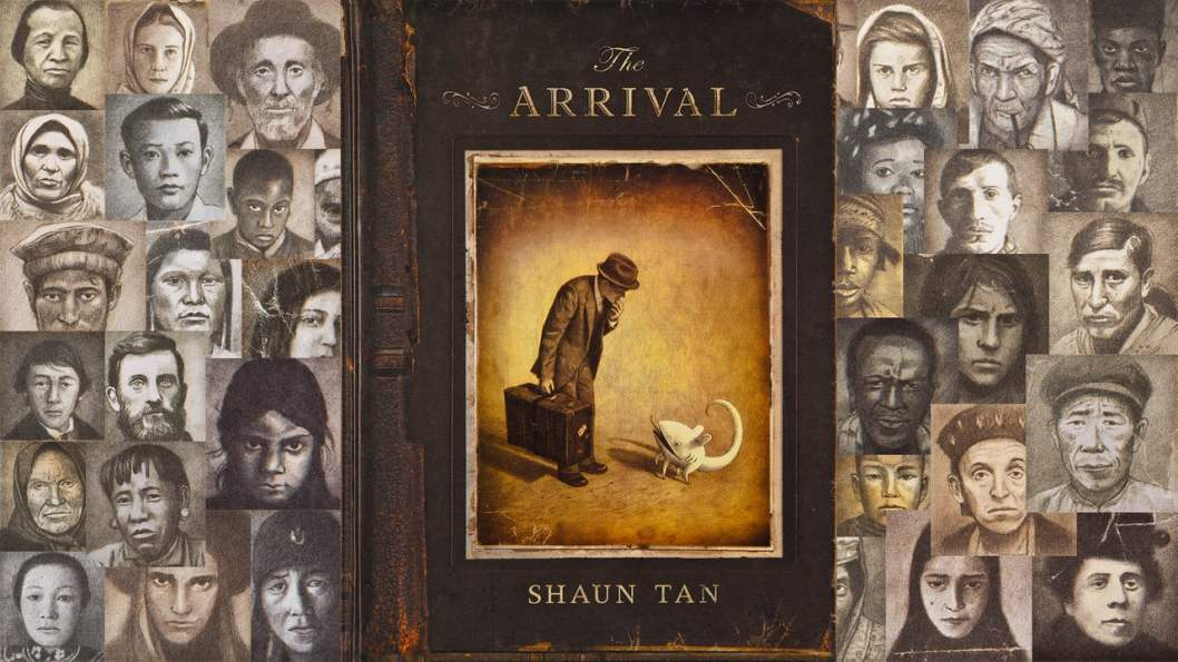 how does the arrival by shaun tan explore belonging Shaun tan was interested in the subject 'belonging' because it seems to be more of a subconscious than conscious concern 2 the 'problem' of belonging is perhaps more of a basic existential question that everybody deals with the situation from time to time, if not on a regular basis.